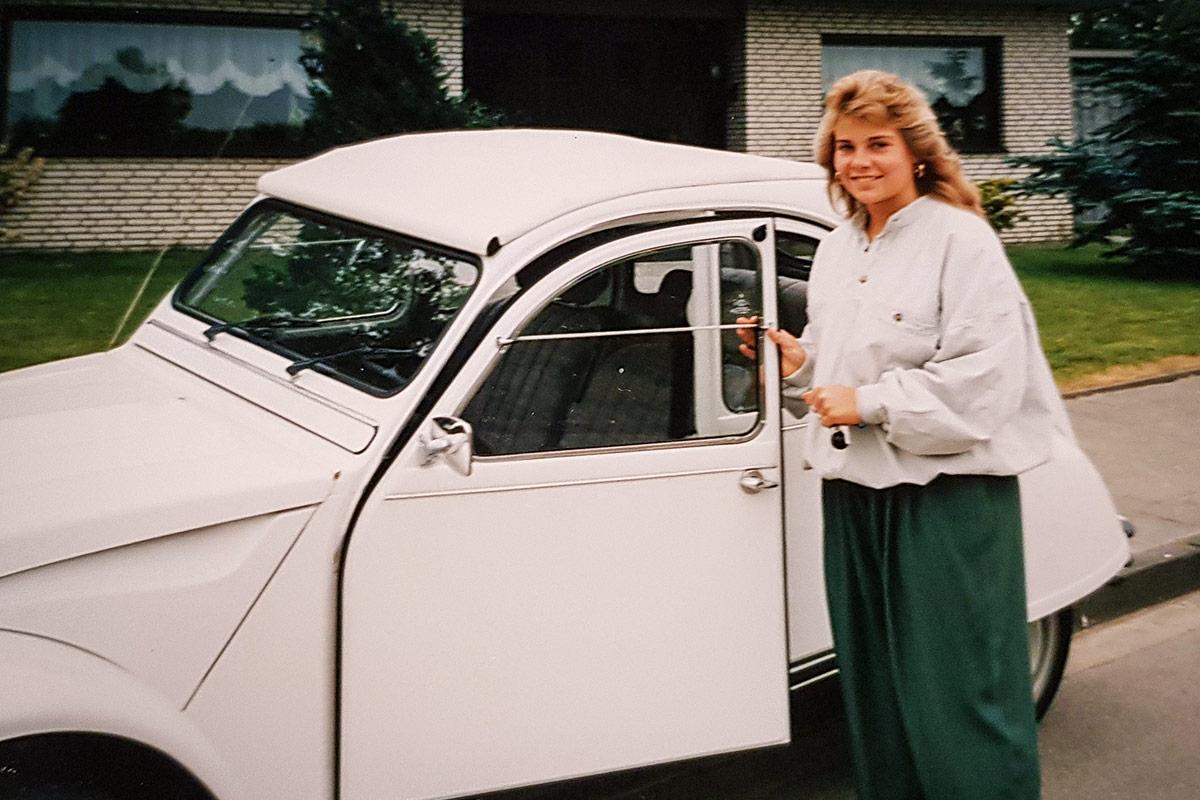 Daniela Ritzerfeld - Citroen 2CV Ente