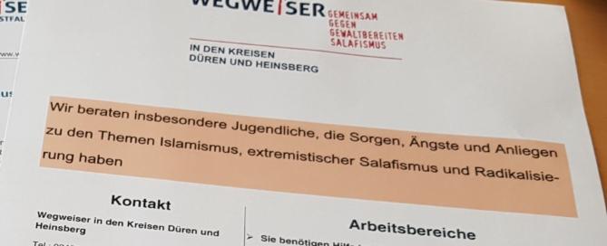 "Programm ""Wegweiser"""